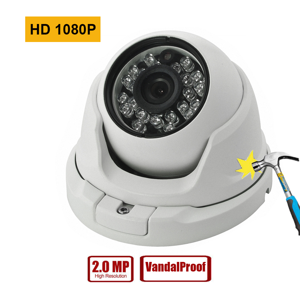 JIVISION Full HD Kamera IP Onvif 1080 P VandalProof IP Kamera 2mp CCTV Güvenlik Video IP Kamera P2P IPCAM ipcamera Dome camara ip