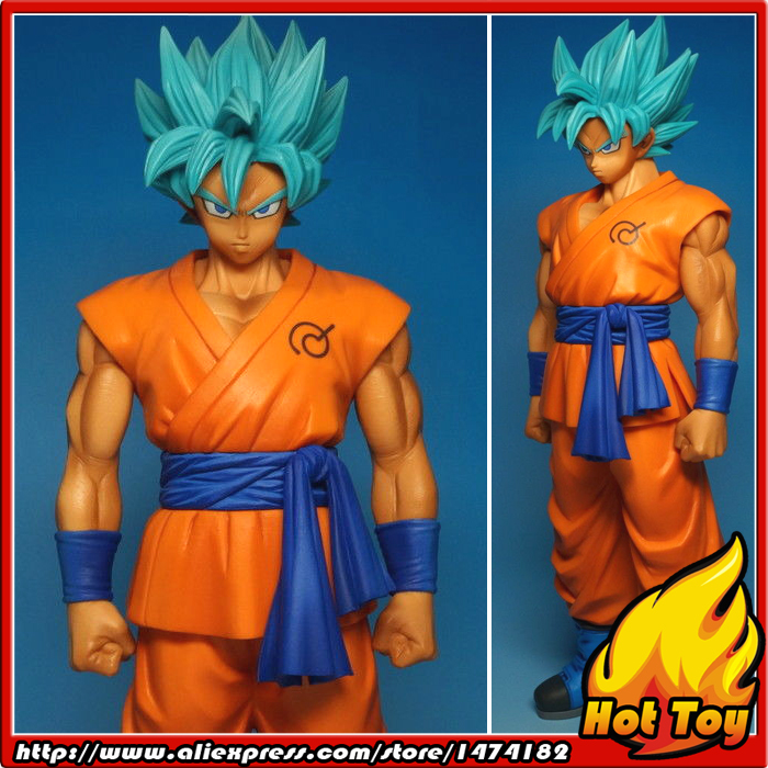 Original BANPRESTO Master Stars Piece (MSP) Figure - Super Saiyan God SS Son Gokou from Dragon Ball Z Resurrection of F